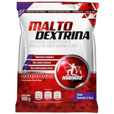Maltodextrina Midway - Guaraná com Açaí - 900g