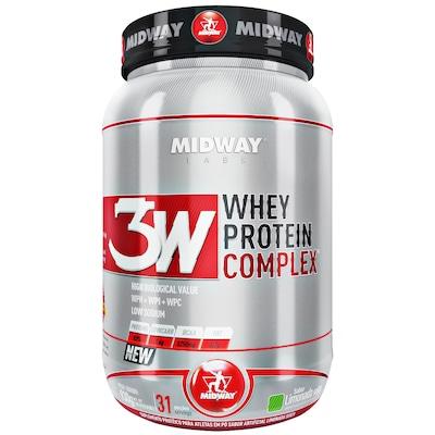 Whey Protein 3W Midway Complex - Limonada Suíça - 930g