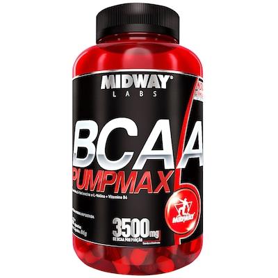 BCAA Pumpmax – 120 Cápsulas – Midway
