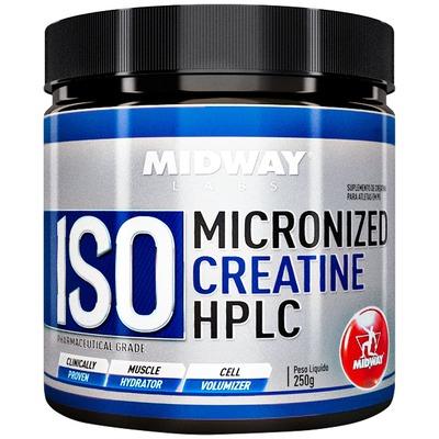 Creatina Midway Iso Micronized Creatine HPLC - 250g