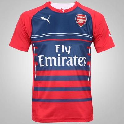 Camisa Pré-Jogo do Arsenal 14/15 Puma
