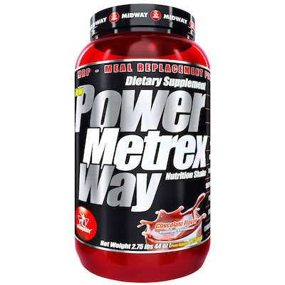 Whey Protein Midway Power Metrex - Chocolate - 1,25Kg