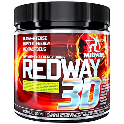 Pré-Treino Midway Red Way 3D - Guaraná - 300g