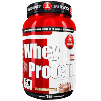 Whey Protein Midway 500 GS - Chocolate - 1Kg