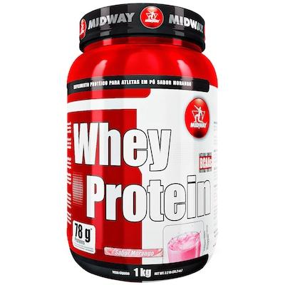 Whey Protein Midway 500 GS - Morango - 1Kg