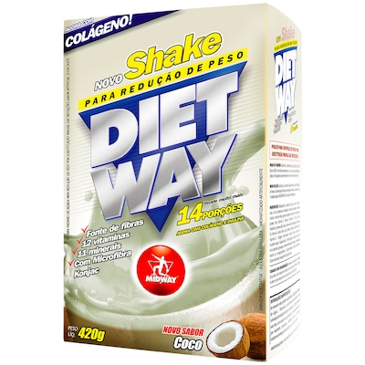 Diet Way – 420 G – Sabor Coco - Midway