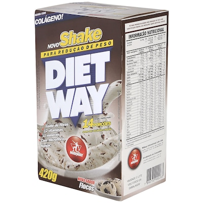 Diet Way – 420 G – Sabor Flocos - Midway