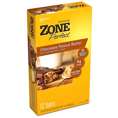 Zone Perfect Classic – 600 g – Sabor Chocolate com manteiga de amendoim - Abbott