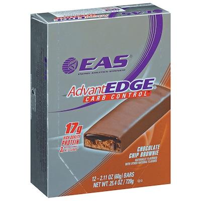 AdvantEdge Carb Control Bar – 720 g – Sabor Chocolate Chip Brownie - EAS
