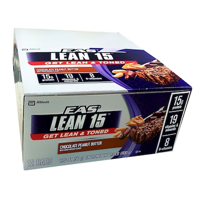 Barra Eas Lean 15 Choc Peanut But 12 Un