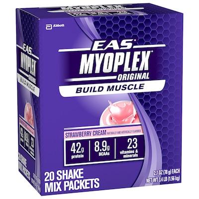 Myoplex Original – 1,56 g – Sabor Morango – EAS