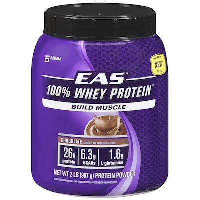100% Whey Protein – 907 g – Sabor Chocolate – EAS Abbott Nutrition