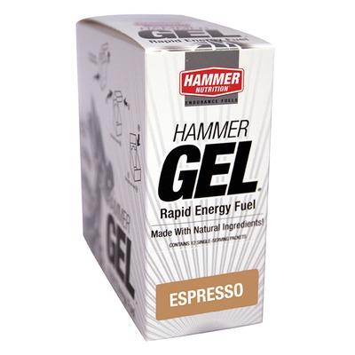 Energético Em Gel – 32,9 g – 12 Sachês - Sabor Café Expresso - Hammer Nutrition