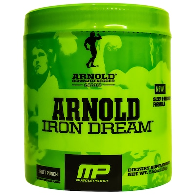 ZMA Muscle Pharm Arnold Iron Dream - Ponche de Frutas - 168g