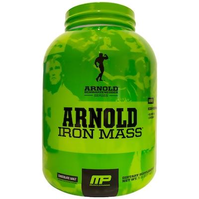 Arnold Iron Mass – 2,27 Kg – Sabor Chocolate - Muscle Pharm