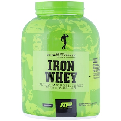 Whey Protein Muscle Pharm Arnold Iron Whey - Chocolate - 2,27kg