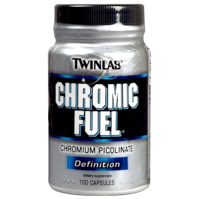 Chromic Fuel – 100 cápsulas – Sem Sabor– Twinlab
