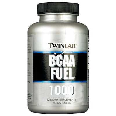 BCAA Twinlab BCAA Fuel 1000 - Sem Sabor - 90 Cápsulas