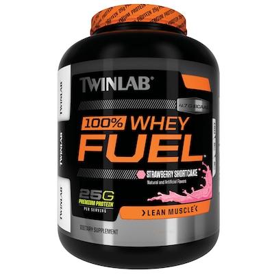 Whey Protein Fuel – 907 g – Sabor Morango – Twinlab