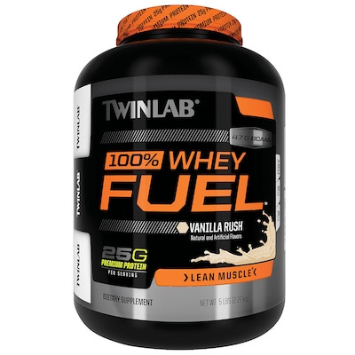 Whey Protein Fuel – 2,27 kg – Sabor Baunilha – Twinlab
