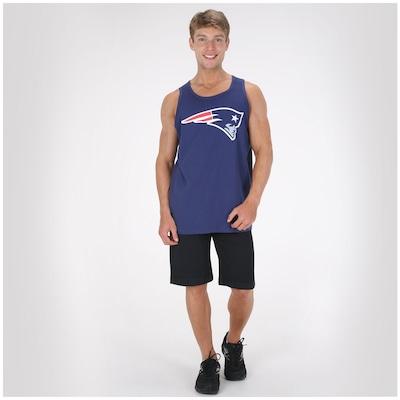 Camiseta Regata New Era Basic Patriots - Masculina