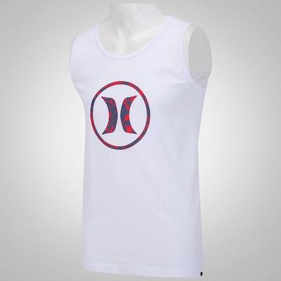 Camiseta Regata Hurley Block Party Glitch - Masculina