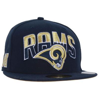 Boné Aba Reta New Era St. Louis Rams - Fechado - Adulto