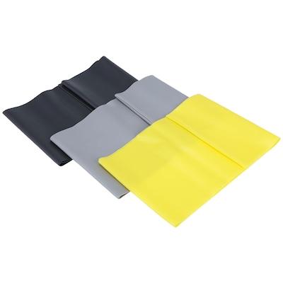 Faixa Elástica Ziva Kit Com 3 Níveis de Resistência