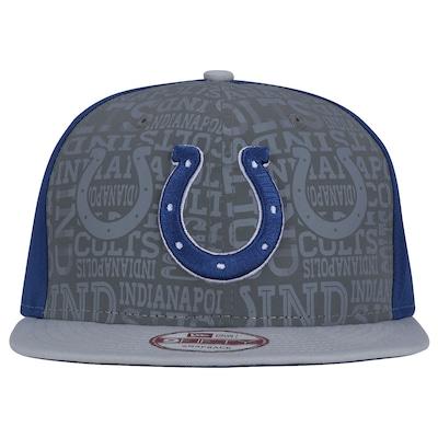 Boné Aba Reta  New Era Indianápolis Colts - Snapback - Adulto