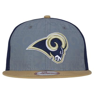 Boné Aba Reta New Era 9FIFTY St. Louis Rams NFL Draft Refletive - Snapback - Adulto