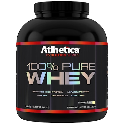 Whey Protein Atlhetica 100% Pure - Baunilha  2 Kg