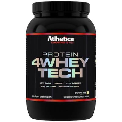 Whey Protein Atlhetica 4Whey Tech - Baunilha - 907g