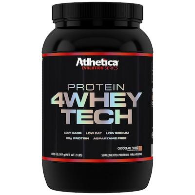 Whey Protein Atlhetica 4Whey Tech - Chocolate - 907g