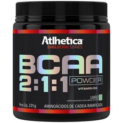 BCAA Atlhetica Powder 2:1:1 - Sabor Limão - 225g
