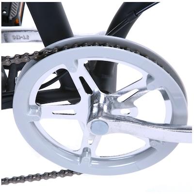 Bicicleta Oxer Dobrável - Aro 20 - Freio V-Brake - Câmbio Traseiro Shimano - 6 Marchas