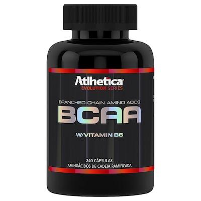 BCAA Atlhetica W/Vitamin B6 - 240 Cápsulas