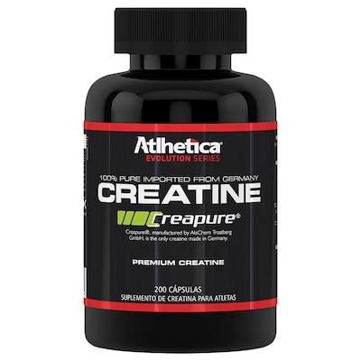 Creatina Athletica Creapure - 200 Cápsulas