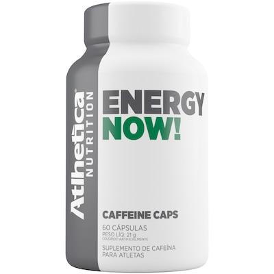 Energético Atlhetica Energy Now - 60 Cápsulas