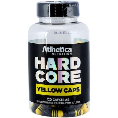 Hardcore Yellow Caps Atlhetica - 120 Cápsulas
