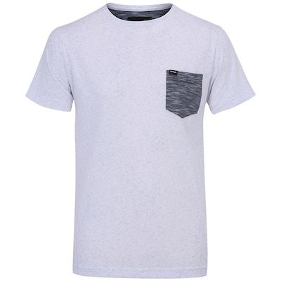Camiseta Hurley Esp Stample Crew - Masculina