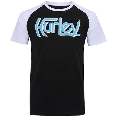 Camiseta Hurley Original Raglan - Masculina