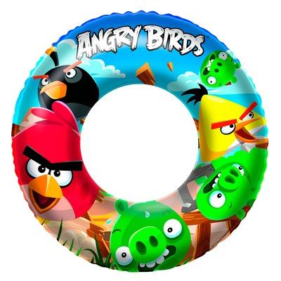 Boia Circular Angry Birds Bestway 96102