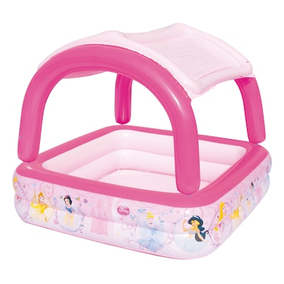 Piscina Inflável com Cobertura Bestway Princesas Disney 265 Litros - Infantil