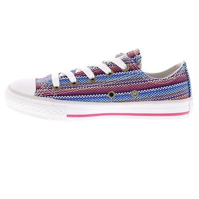 Tênis Converse All Star CT AS Stripes OX HI Feminino – Infantil