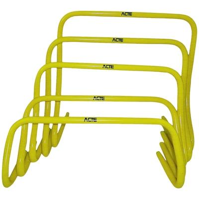 Obstáculos de Agilidade Acte Sports T75 Com 5 Unidades