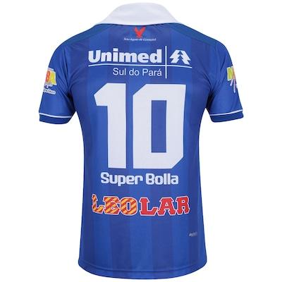 Camisa do Águia Marabá I 2014 nº 10 Super Bolla
