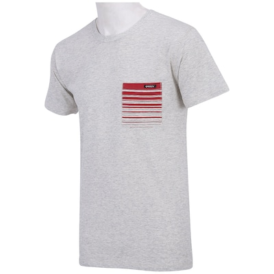 Camiseta Oakley Stripe Pocket - Masculina