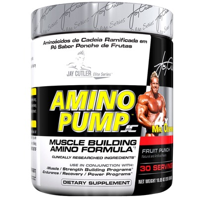 Aminoácido Jay Cutler Series Amino Pump - 285 g - Sem Sabor