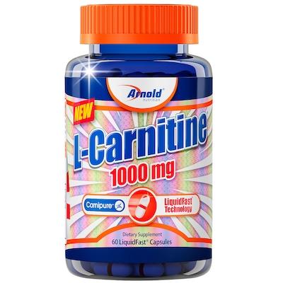 L-Carnitina Arnold Nutrition L-Carnitine - 1000mg - 60 Cápsulas