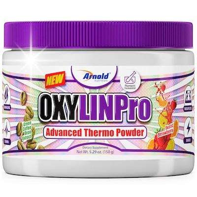 Termogênico Arnold Nutrition Oxylin Pro - Morango - 150g